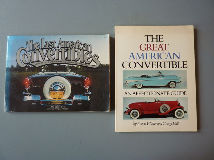 Two Books on American Convertibles - 19977 and 1979