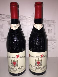 2011 Chateauneuf du Pape red  Clos des Papes - Paul Avril x 2 bottles