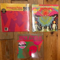 Collection of The Flaming Lips    3x LP    Great records!   