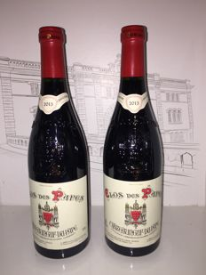 2015 Chateauneuf du Pape rouge Clos des Papes - Paul Avril x 2 bottles