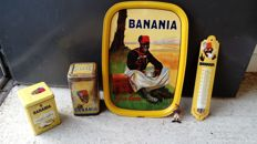 Lot of antique Banania - 1950 up to now.