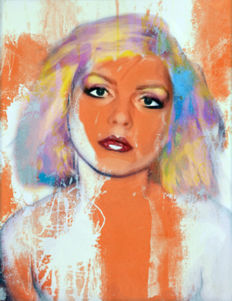 Felix von Altersheim - Deborah Harry - Funky Grunge - vintage orange