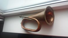 Hunters trumpet / hunting horn - second half of the 20th century
