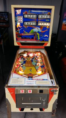 "Gottlieb Pinball ""300"" pinball machine from 1975"