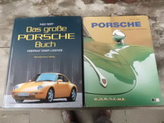 The great Porsche book and Porsche, classic on the road.