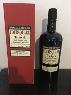 Foursquare Triptych Single Blended Rum Velier