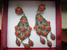 Dangle Earrings - Late 1800s-Early 1900s