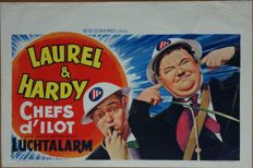 Anonymous - Laurel & Hardy Air Raid Wardens (1943) - ca. 1965