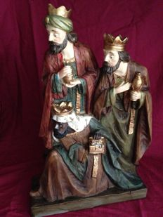 The Three Wise Men, height 45 cm