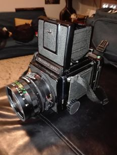 MAMIYA PRO RB 67 MEDIUM FORMAT + 2 LENSES 50 mm and 90 mm+3 120 and 220 compartments