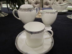 Wedgwood, servies Amherst, bone china 48 delig