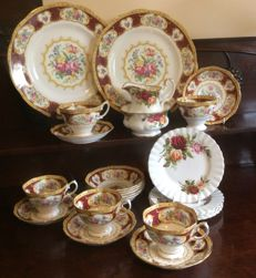 Royal Albert, fine china tea service assorted designs