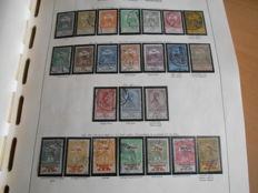 Hungary 1881/1964 - collection in Schaubek preprint album on 162 preprint sheets - Michel 21/2088, official and postage due stamps