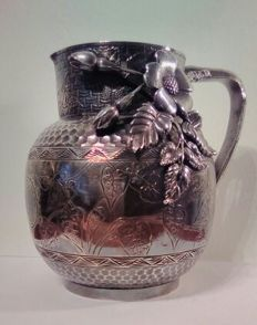 Silver Flower Watering Can from 1887