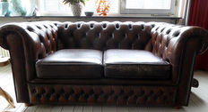 Chesterfield style - two-seat sofa - 20th century