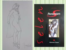 "Casotto, Giovanna - volume Selen ""Pornostars"" + original illustration ""Pin Up"" (2017)"