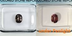 Colour Change Pyrope Spessartite Garnet - 1.02 ct