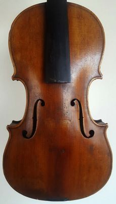 Very Interesting Old French violin