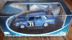 Solido - Scale 1/18 - Renault 8 Gordini 1969  Rally of Morocco  - Jean Pierre Nicolas