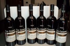 1992 Barbaresco Pio Cesare - total of 6 bottles