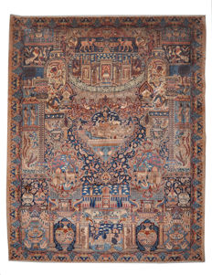 Hand-knotted Persian carpet (1435756) - Kashmar - approx. 371 x 196 cm - Iran
