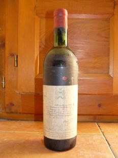 1961 Chateau Mouton Rothschild, Paulliac - 1 bottle