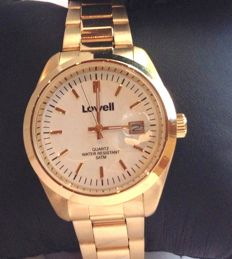 LOWELL Italy - OYSTER CLASS 18 kt gold laminated - Unisex - New