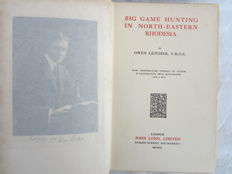 Letcher, Owen - Big Game Hunting In North-Eastern Rhodesia - 1911