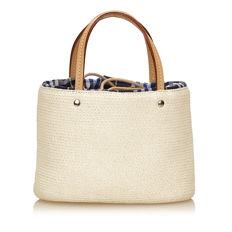 Burberry - Straw Handbag