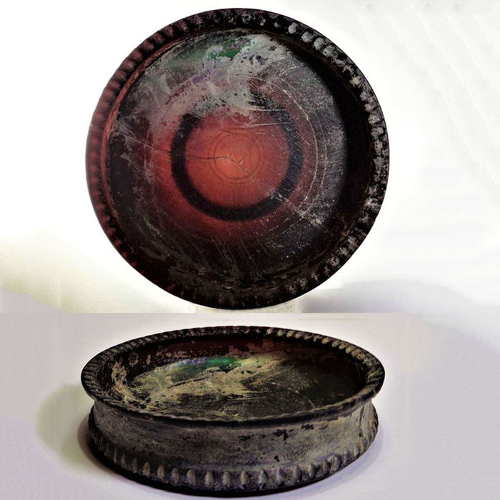 Ancient Roman Glass Scale - 25×108×108 mm - (1)