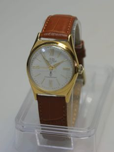 Rare GUB Glashütte - Q1 - men's wristwatch - 1950s