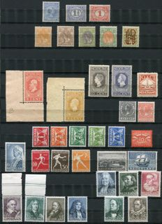 The Netherlands 1891/1938 - Composition starting from classic