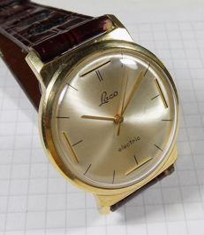Laco Electric - West Germany - Back Crown - 1961 - Men's Wristwatch