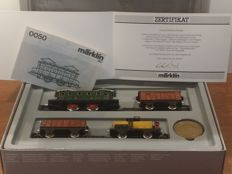 Märklin H0 - 0050/1 - Electric locomotive set Jubilee Edition from 1985, 50 Years of H0