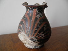 Oenochoe with spout in terracotta - height 65 mm