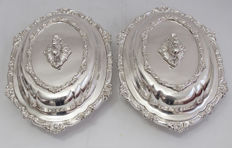 Tiffany & Co Very Fine Quality Pair Of Serving Dishes c. 1865 - 1870
