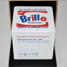 Andy Warhol (after) - Brillo Savings Box Limited Edition