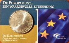 The Netherlands - 5 Euro 2004 'Europamunt' (Europe coin) in coin card - silver