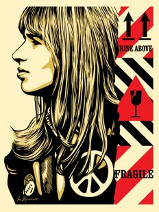 Shepard Fairey (OBEY) - Fragile Peace