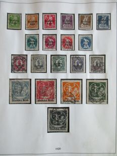 German Reich 1872/1945 - Batch in 3 albums