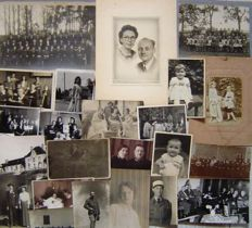 Photo album remembrance with 25 photos + 100 loose photos