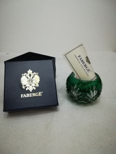 Fabergè - Crystal candle holder