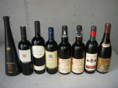 Lot of 8 bottles of Italian wine