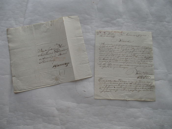 The Netherlands - Documents Shares Nederlandsche Handelsmaatschappij - 1827