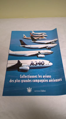 "Outstanding: COMPLETE COLLECTION ""airliners"" - 39 issues (thumbnail + issue) perfectly new between December 2001 and June 2003"