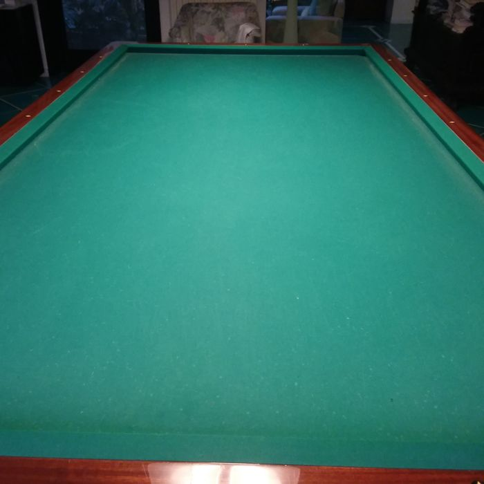 Italian International Pool Table Without Holes Hermelin Brand - Pool table no pockets
