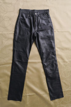 New original Harley Davidson - Leather trousers - size EUR/USA 36/8