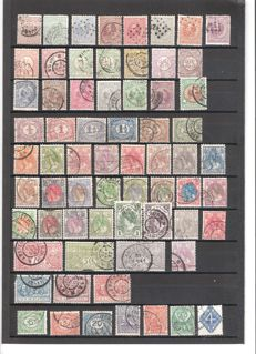 The Netherlands 1869/2006 - Collection of stamps and some letters