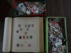 World, from classic to modern - over 20,000 stamps, with a collection of Austria classic in Kabe album