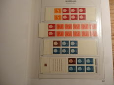 Netherlands and Overseas - Collection of stamp booklets and stamps in Davo albums